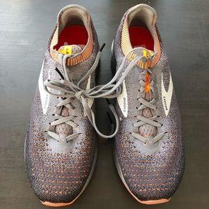 Brooks Levitate 2 Grey Orange Sneakers